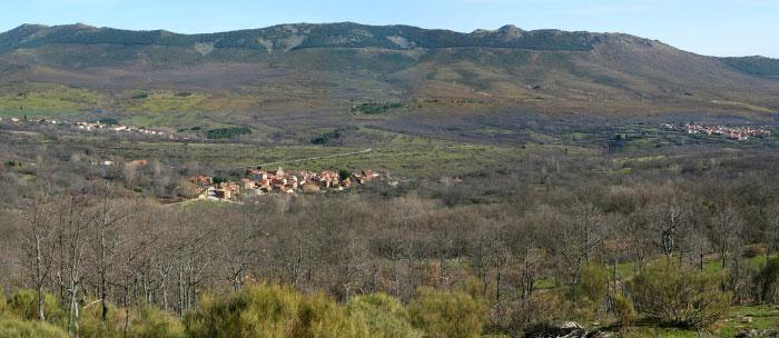 Panorámica de los 3 municipios de la sierra del rincon