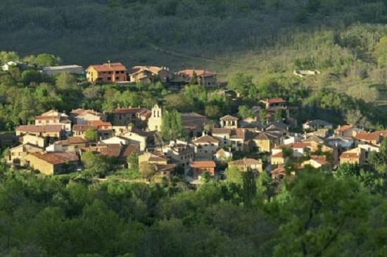 Vista panorámica del municipio de Horcajuelo