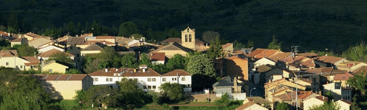 Panorámica del municipio de Montejo de la Sierra