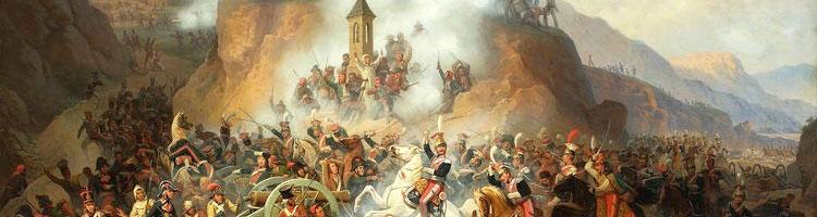 """""""Batalla de Somosierra"""" por January Suchodolski"""